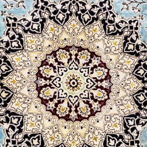 Pak Persian Tabriz Silk & wool carpet – K14325