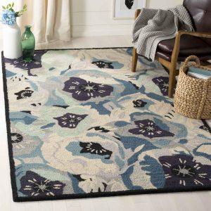 Martha Stewart Rug Blue MSR4872B